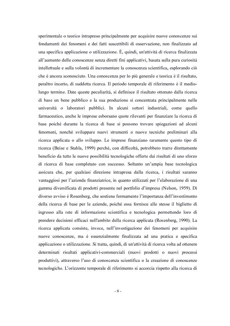 Anteprima della tesi: La valutazione di impatto degli incentivi alla R&S, Pagina 6