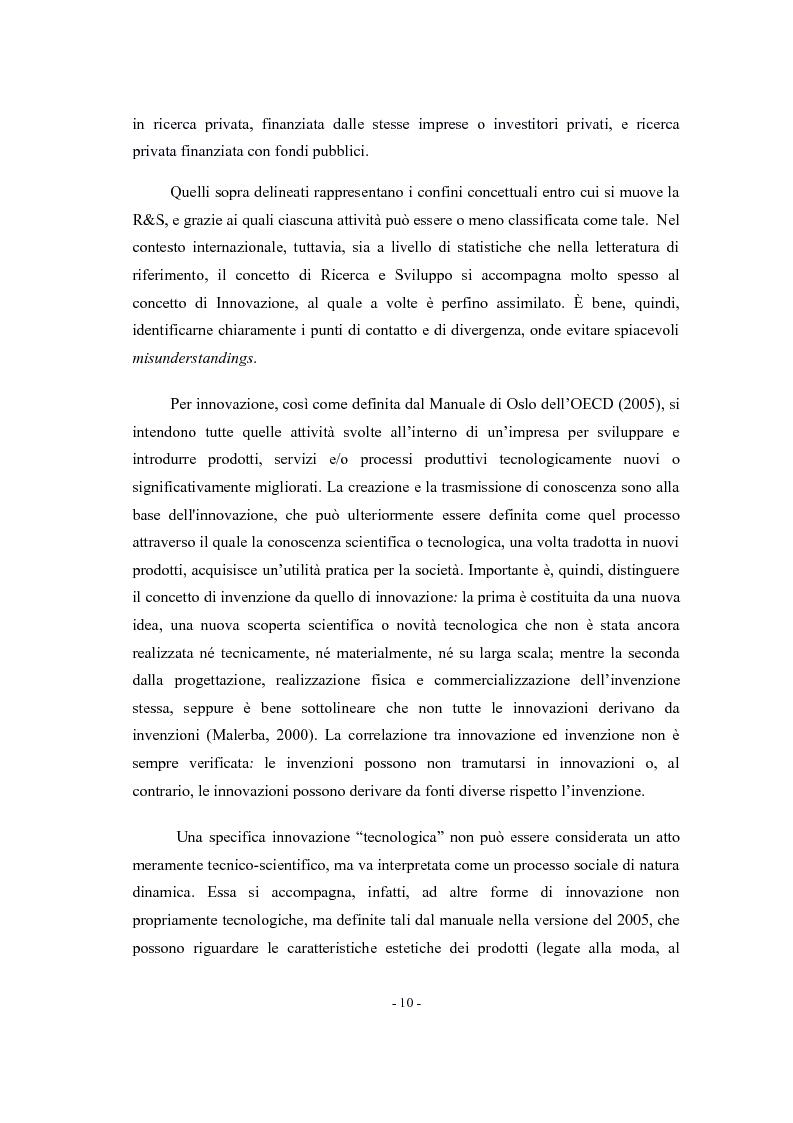 Anteprima della tesi: La valutazione di impatto degli incentivi alla R&S, Pagina 8