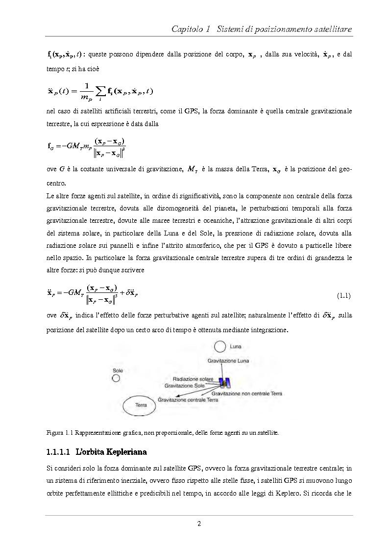 Anteprima della tesi: Analisi delle prestazioni di integrità e accuratezza di sistemi di localizzazione satellitare per il controllo della marcia dei treni, Pagina 7
