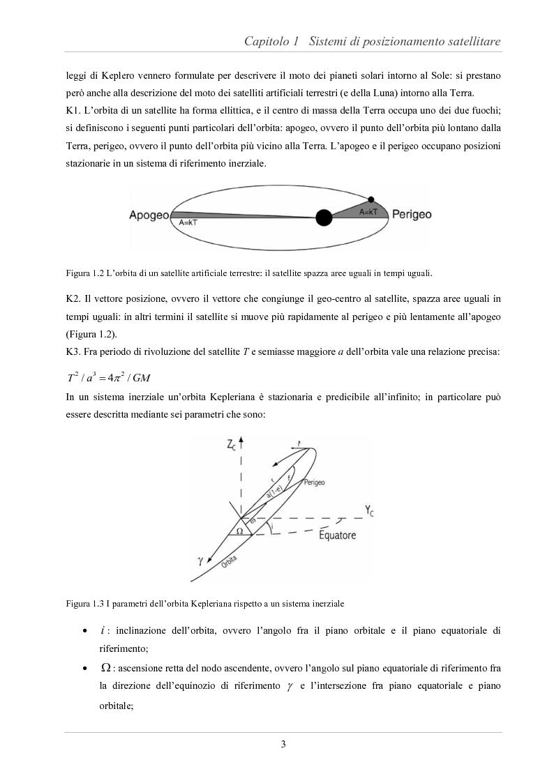 Anteprima della tesi: Analisi delle prestazioni di integrità e accuratezza di sistemi di localizzazione satellitare per il controllo della marcia dei treni, Pagina 8