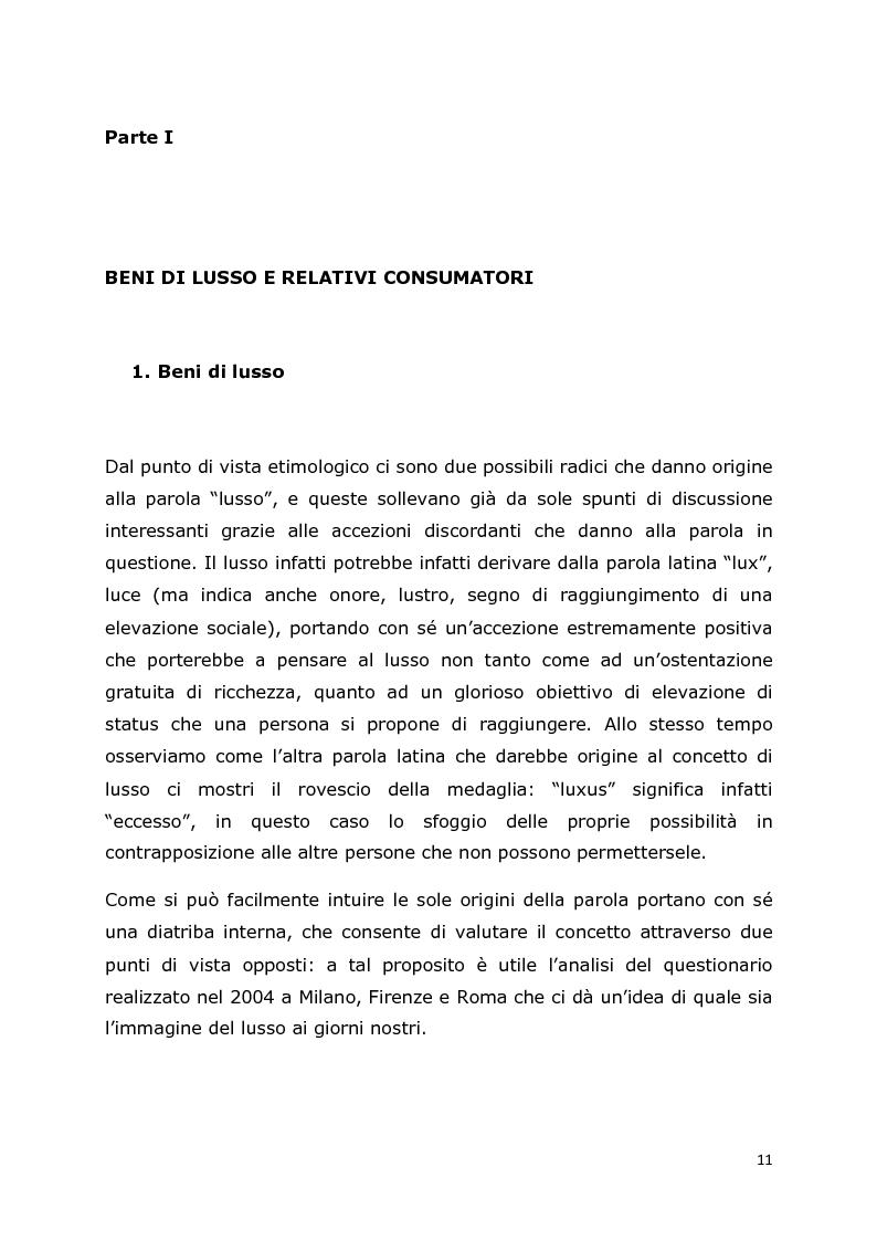 Anteprima della tesi: Comunicazione e trend delle imprese di abbigliamento di lusso: il caso del settore bambino, Pagina 7