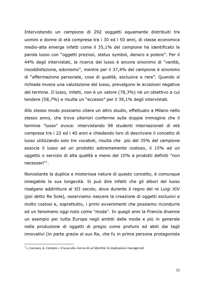 Anteprima della tesi: Comunicazione e trend delle imprese di abbigliamento di lusso: il caso del settore bambino, Pagina 8