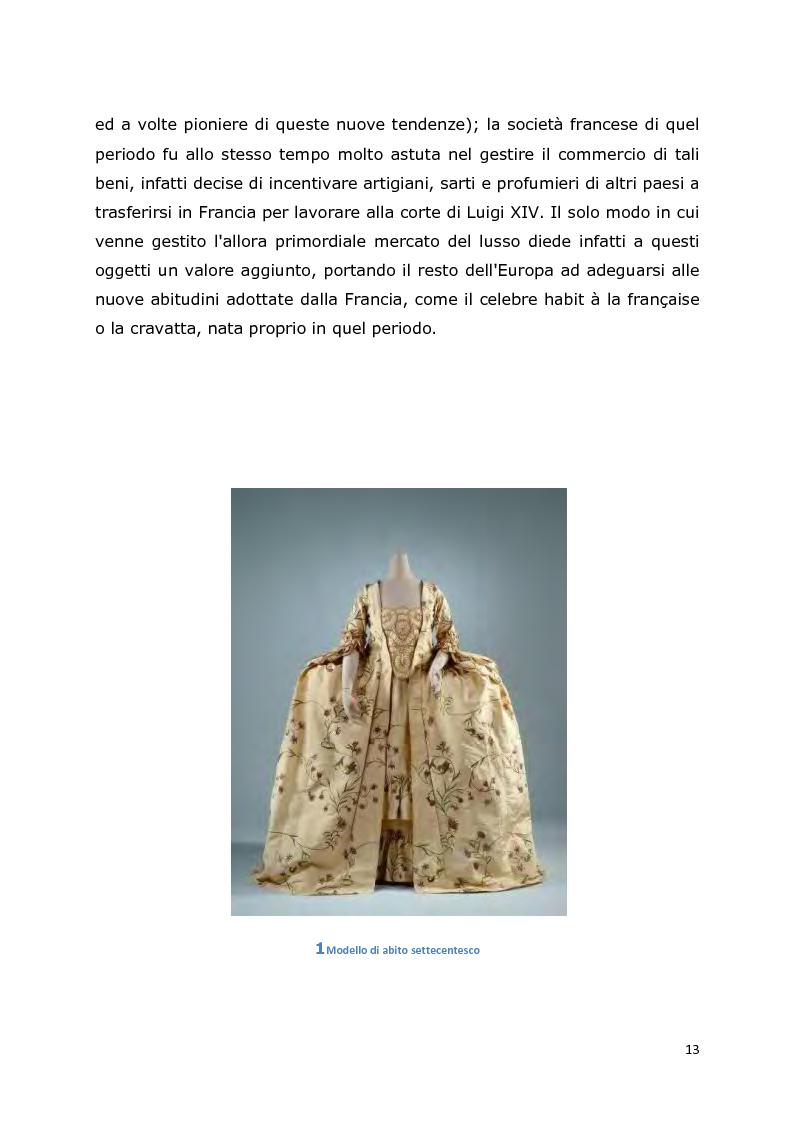 Anteprima della tesi: Comunicazione e trend delle imprese di abbigliamento di lusso: il caso del settore bambino, Pagina 9