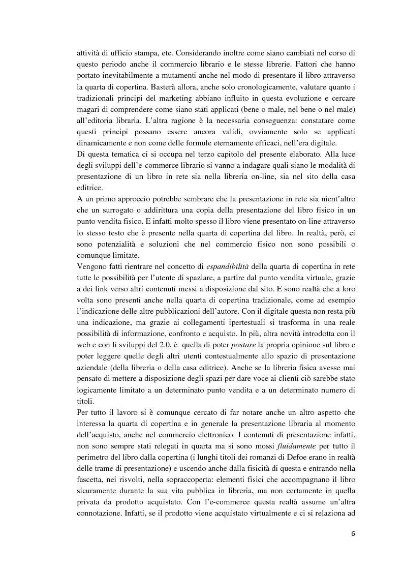 Anteprima della tesi: I libri dietro la quarta. Ruoli e forme della quarta di copertina, Pagina 5