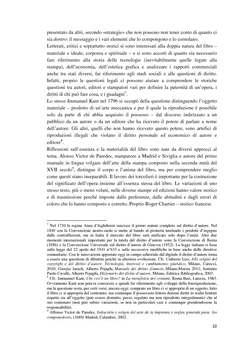 Anteprima della tesi: I libri dietro la quarta. Ruoli e forme della quarta di copertina, Pagina 9