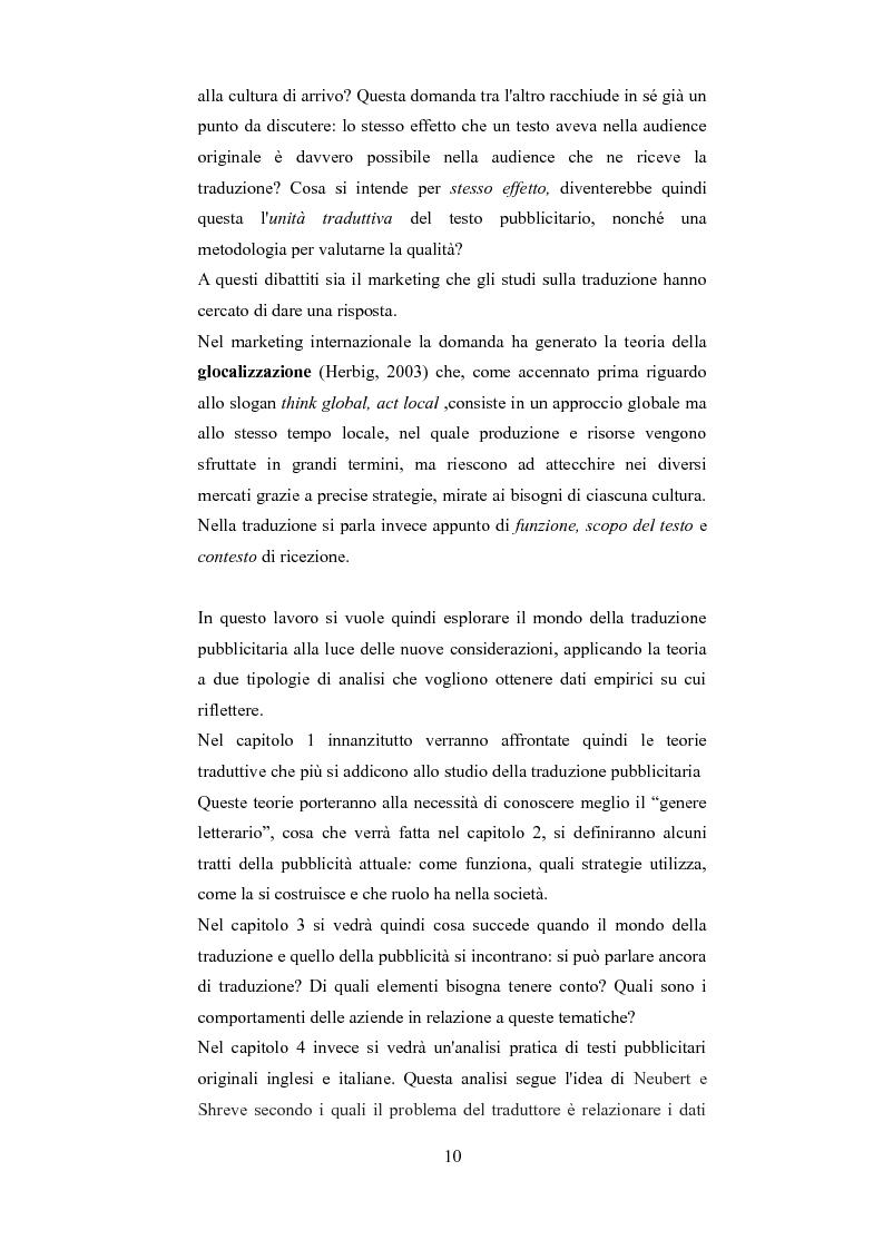 Anteprima della tesi: Esplorando le sfide della traduzione pubblicitaria nel 21esimo secolo: analisi di pubblicità nel campo dei prodotti di bellezza, Pagina 7