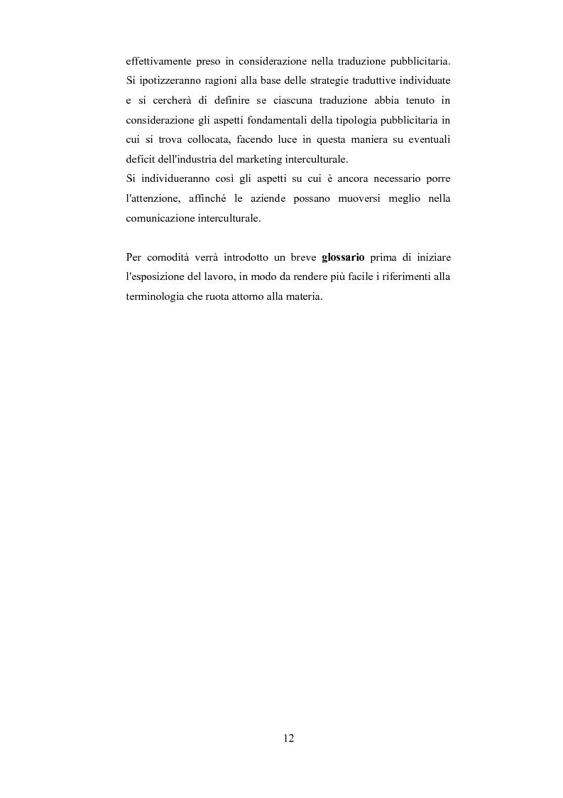 Anteprima della tesi: Esplorando le sfide della traduzione pubblicitaria nel 21esimo secolo: analisi di pubblicità nel campo dei prodotti di bellezza, Pagina 9