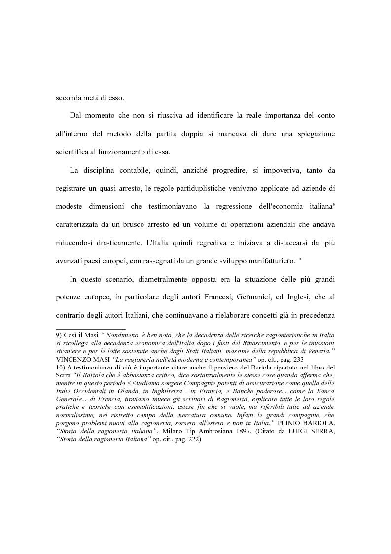Anteprima della tesi: Da Edmond Degrange a Francesco Marchi e la rinascita della ragioneria italiana, Pagina 7