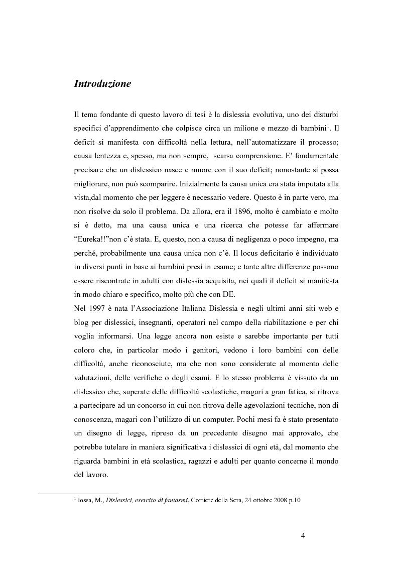 Anteprima della tesi: Aspetti emotivo-motivazionali in bambini con dislessia evolutiva, Pagina 2
