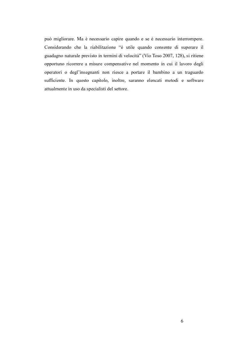 Anteprima della tesi: Aspetti emotivo-motivazionali in bambini con dislessia evolutiva, Pagina 4
