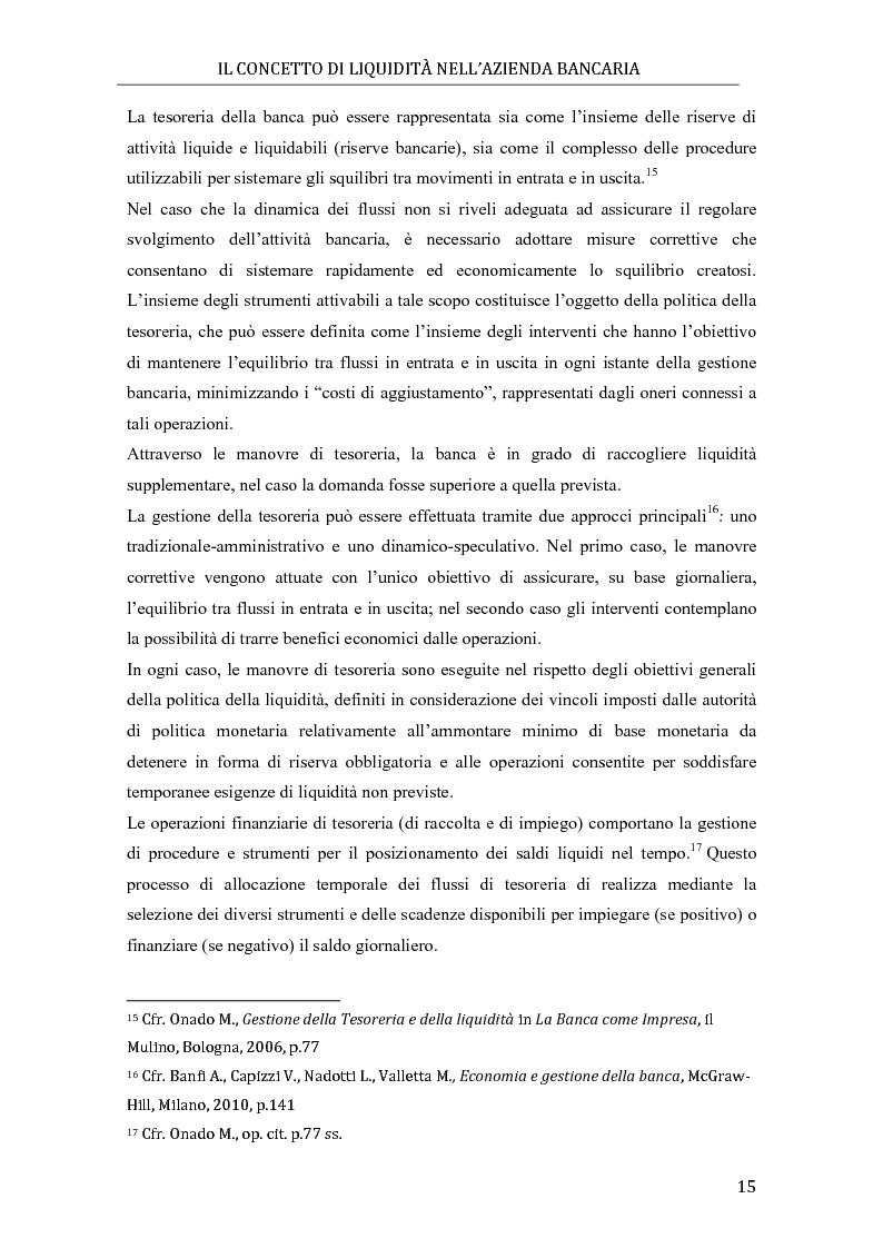Anteprima della tesi: Il rischio di liquidità nelle banche: profilo gestionali ed evoluzione della regolamentazione, Pagina 11