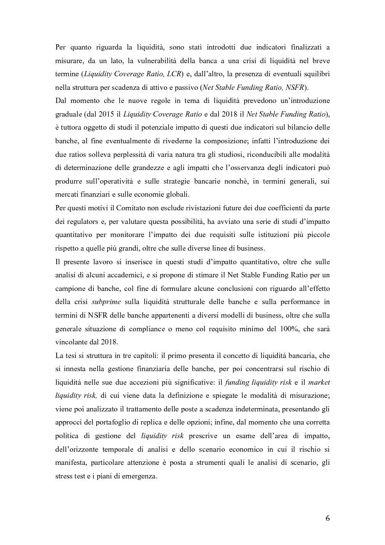 Anteprima della tesi: Il rischio di liquidità nelle banche: profilo gestionali ed evoluzione della regolamentazione, Pagina 3