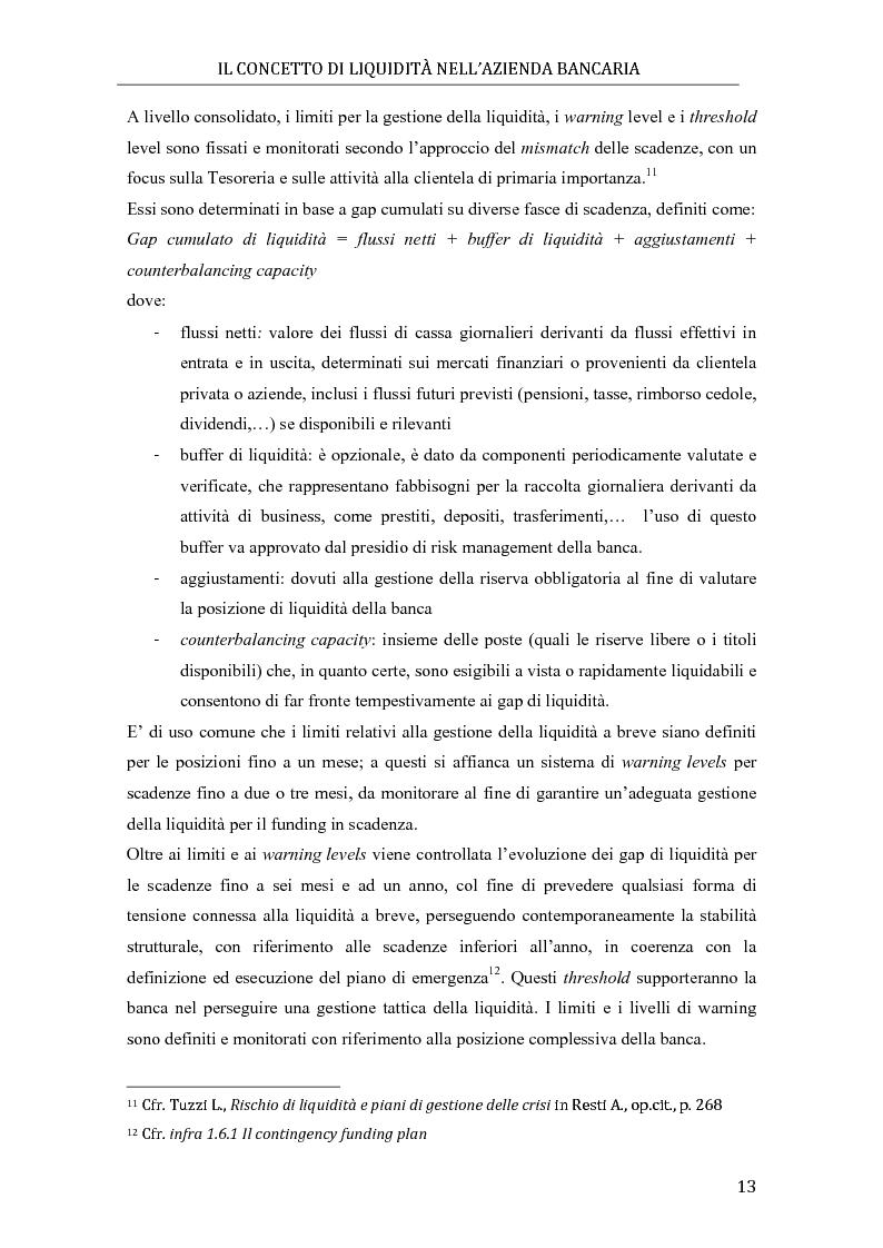 Anteprima della tesi: Il rischio di liquidità nelle banche: profilo gestionali ed evoluzione della regolamentazione, Pagina 9