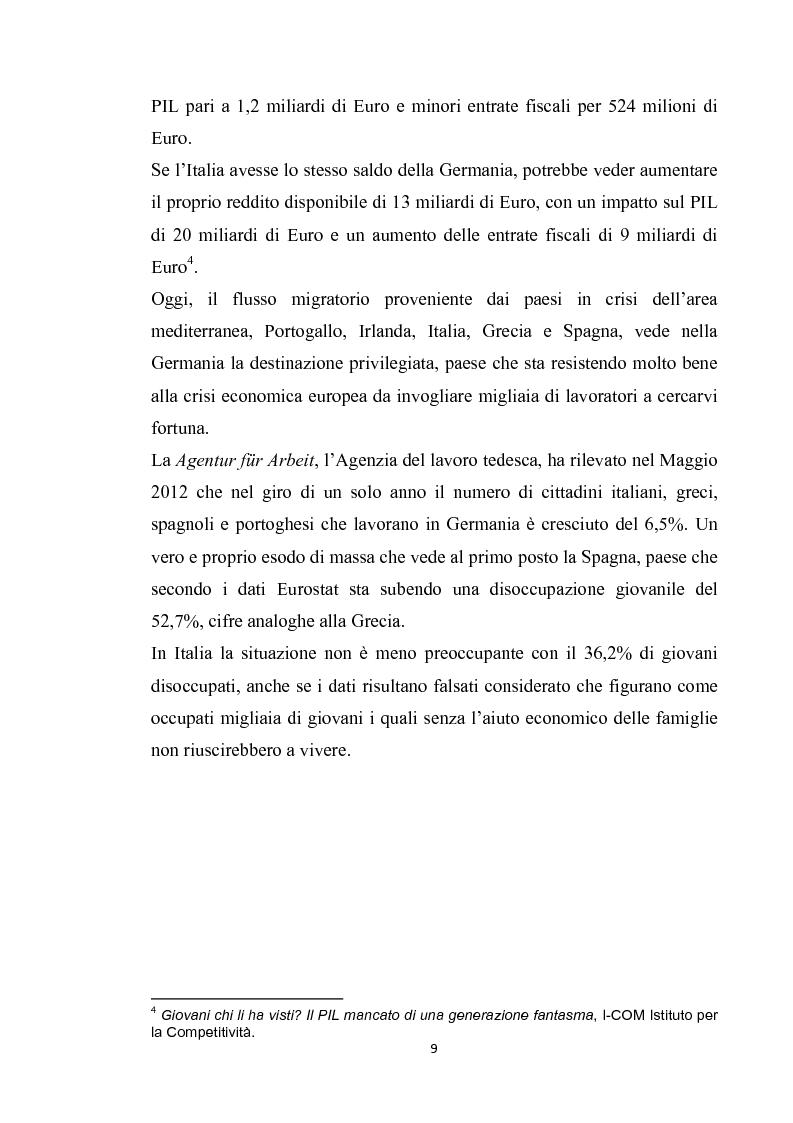 Anteprima della tesi: Integrazione del migrante italiano in Germania ieri ed oggi. Destinazione Monaco di Baviera, Pagina 6