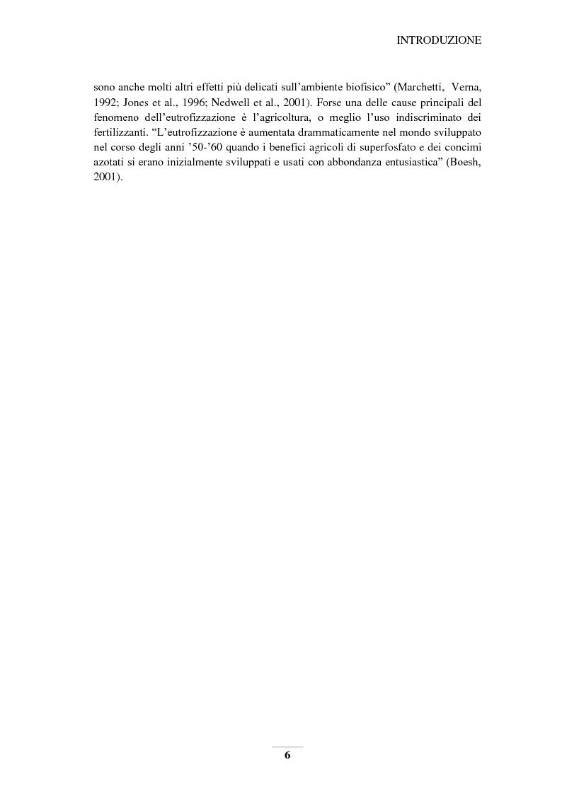 Anteprima della tesi: Riduzione e prevenzione dell'inquinamento delle acque dai nitrati provenienti da fonti agricole, Pagina 3