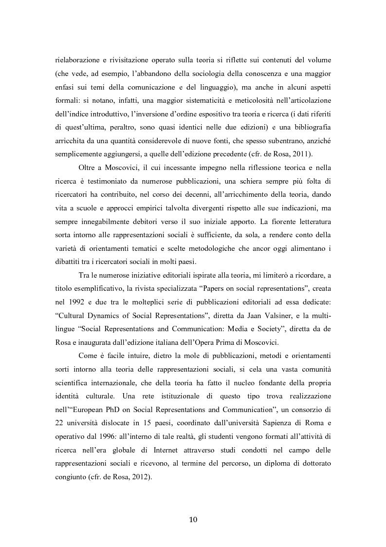Anteprima della tesi: ''La psicoanalisi, la sua immagine e il suo pubblico'', cinquant'anni dopo. Indagine empirica sulle rappresentazioni sociali della psicoanalisi tramite lo strumento delle trame associative., Pagina 8
