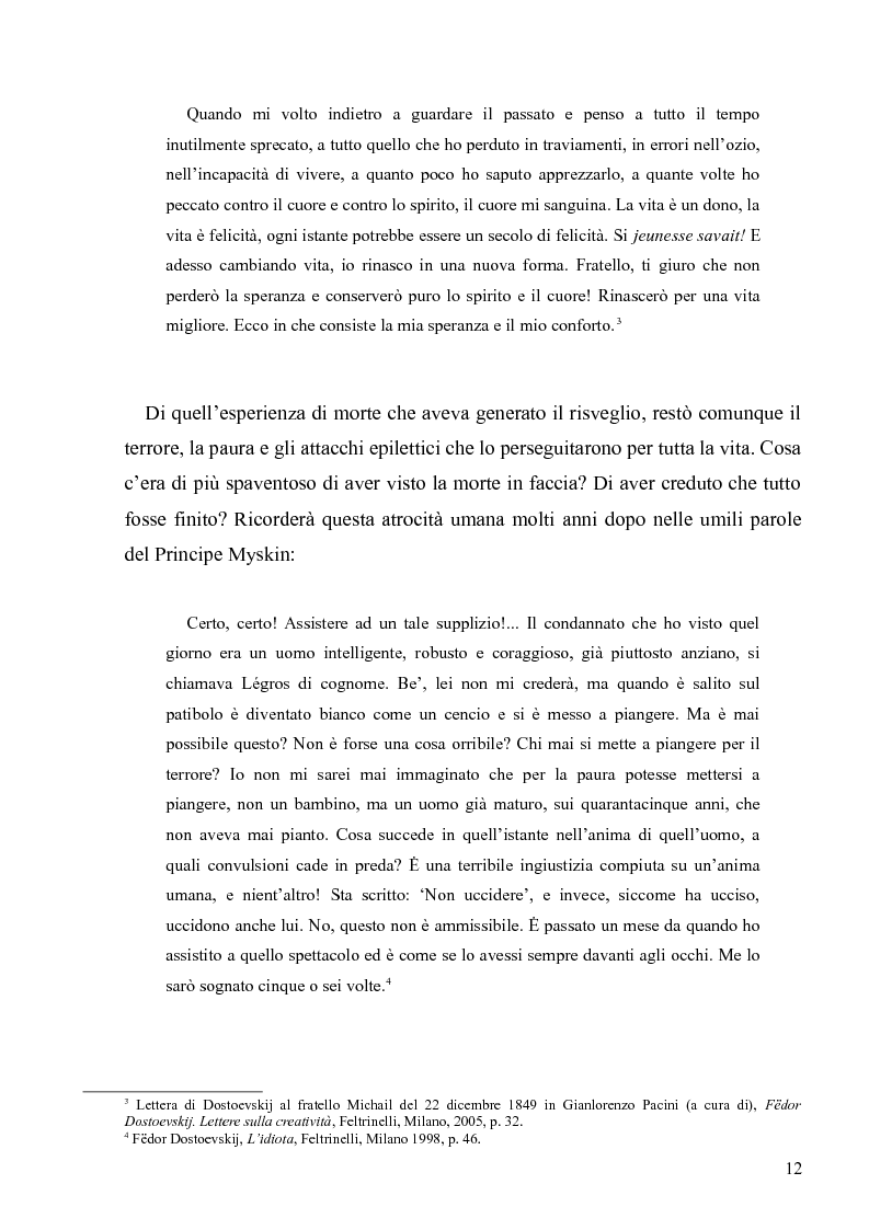 """Anteprima della tesi: Dostoevskij a teatro: le messinscene di """"Delitto e castigo"""" dalla Francia all'Italia, Pagina 12"""