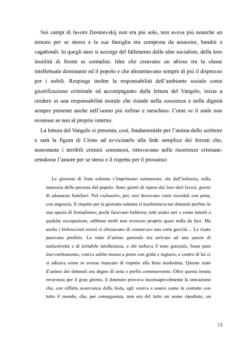 """Anteprima della tesi: Dostoevskij a teatro: le messinscene di """"Delitto e castigo"""" dalla Francia all'Italia, Pagina 13"""