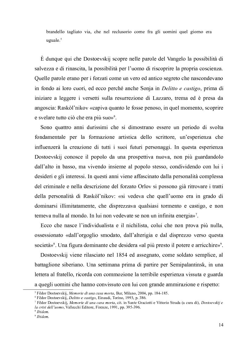 """Anteprima della tesi: Dostoevskij a teatro: le messinscene di """"Delitto e castigo"""" dalla Francia all'Italia, Pagina 14"""
