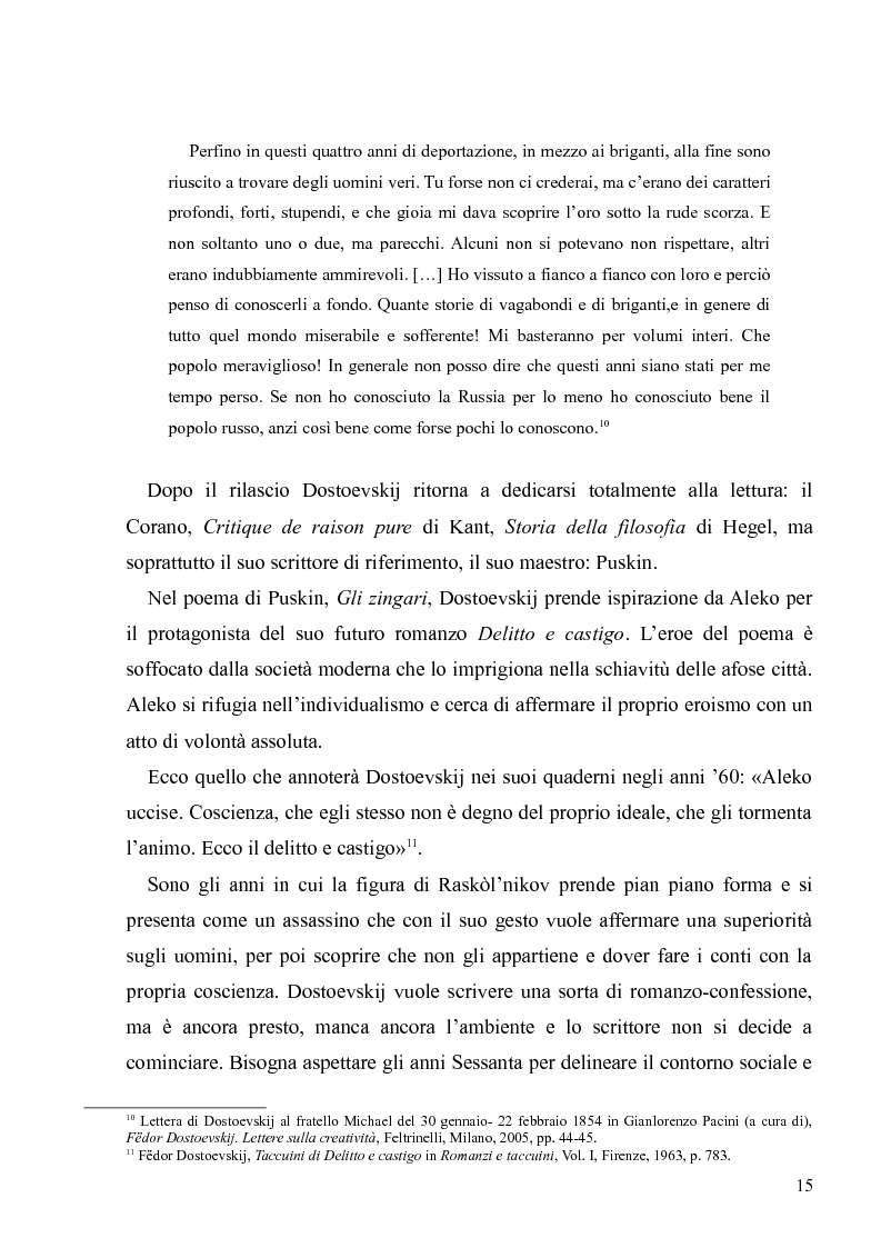 """Anteprima della tesi: Dostoevskij a teatro: le messinscene di """"Delitto e castigo"""" dalla Francia all'Italia, Pagina 15"""