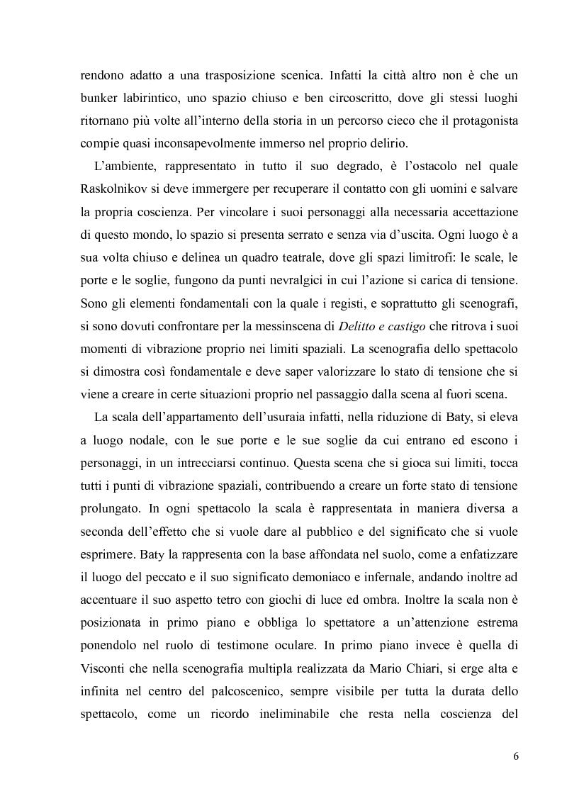 """Anteprima della tesi: Dostoevskij a teatro: le messinscene di """"Delitto e castigo"""" dalla Francia all'Italia, Pagina 6"""