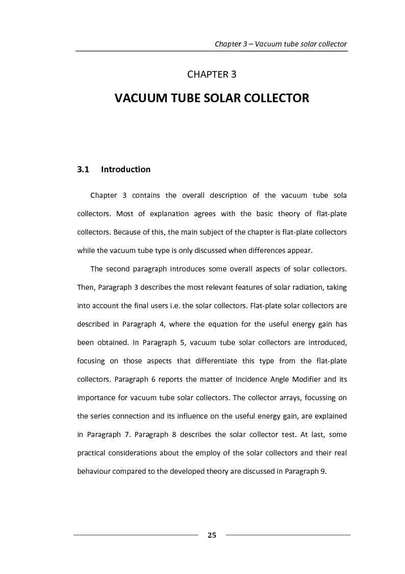 Anteprima della tesi: Simulation of the solar circuit for the Federal Environmental Agency's solar cooling system Dessau, Germany, Pagina 2