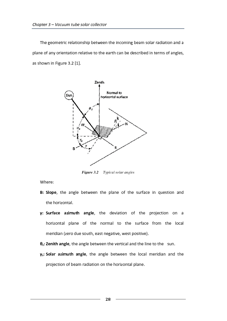 Anteprima della tesi: Simulation of the solar circuit for the Federal Environmental Agency's solar cooling system Dessau, Germany, Pagina 5