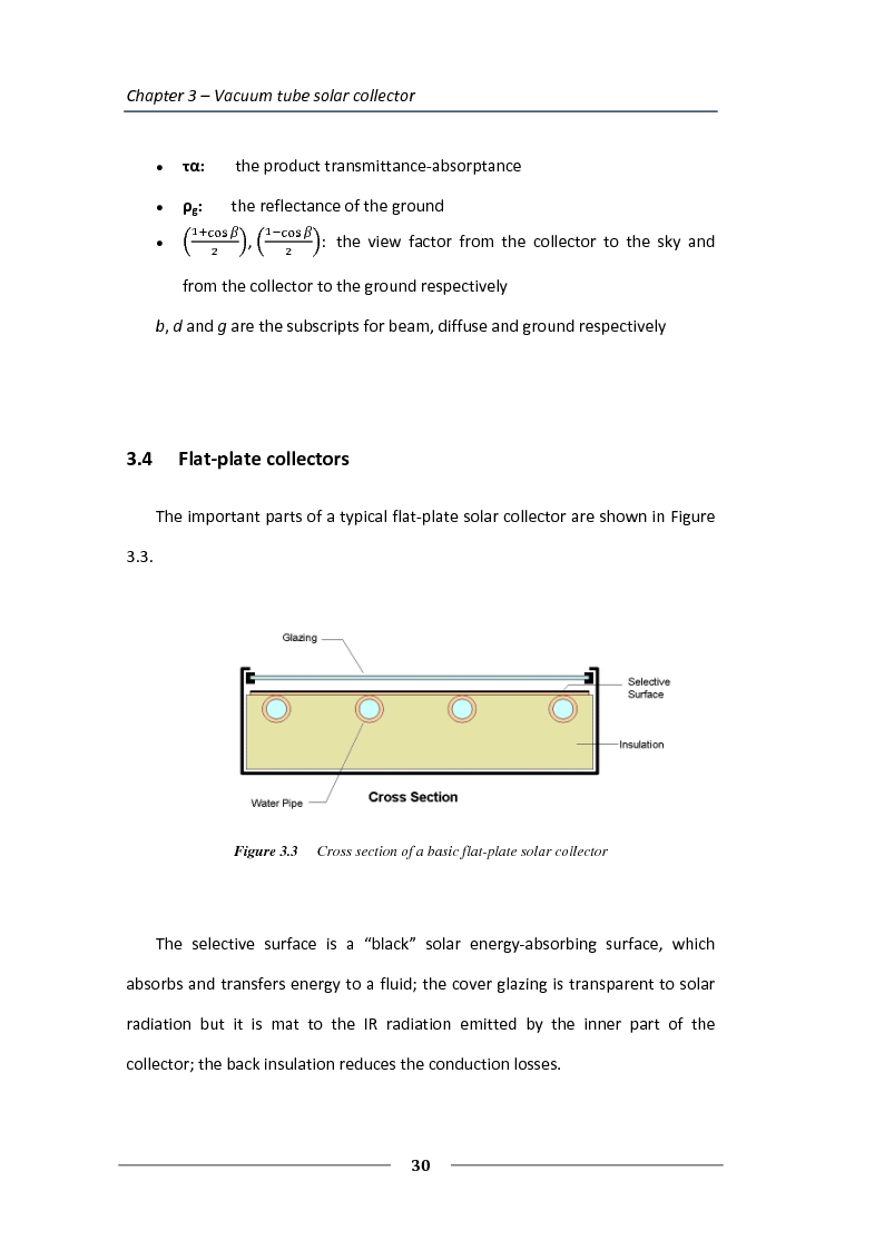 Anteprima della tesi: Simulation of the solar circuit for the Federal Environmental Agency's solar cooling system Dessau, Germany, Pagina 7