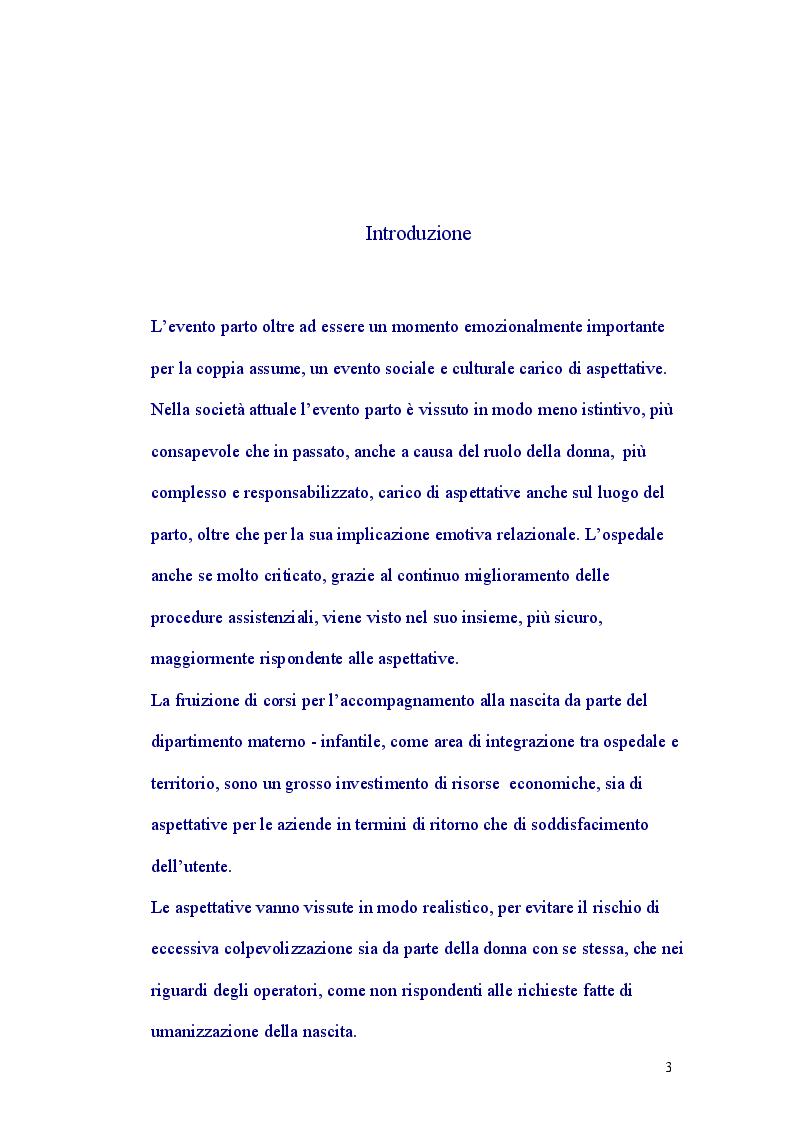 Anteprima della tesi: Assistenza al Parto Personalizzata, Pagina 2