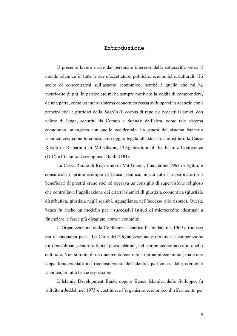 Anteprima della tesi: Gestione del rischio nella finanza islamica , Pagina 2
