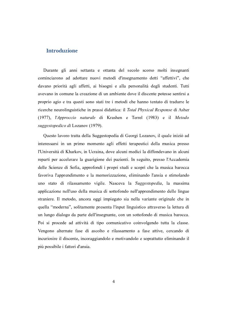 Anteprima della tesi: Suggestopedia classica e moderna, Pagina 2