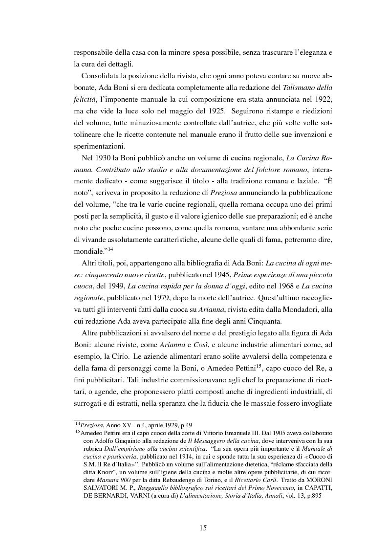 Anteprima della tesi: Ada Boni e la sua rivista ''Preziosa''. Rivista di economia domestica per signore (1915-1959), Pagina 12