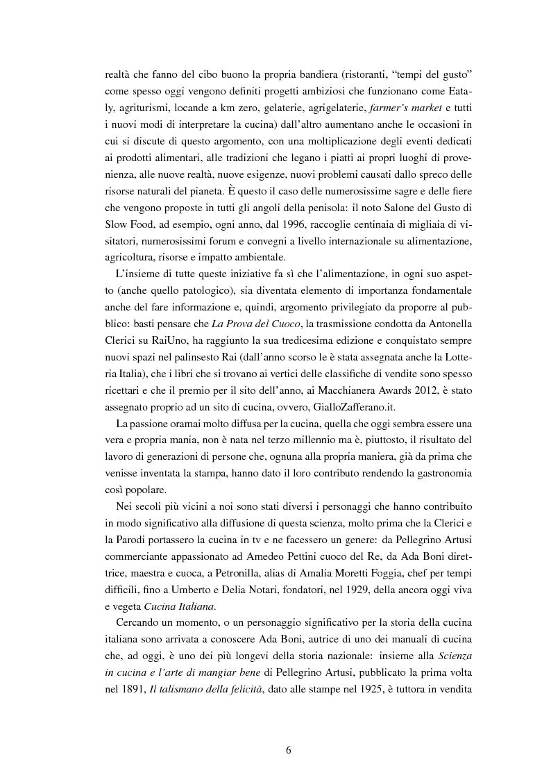 Anteprima della tesi: Ada Boni e la sua rivista ''Preziosa''. Rivista di economia domestica per signore (1915-1959), Pagina 3