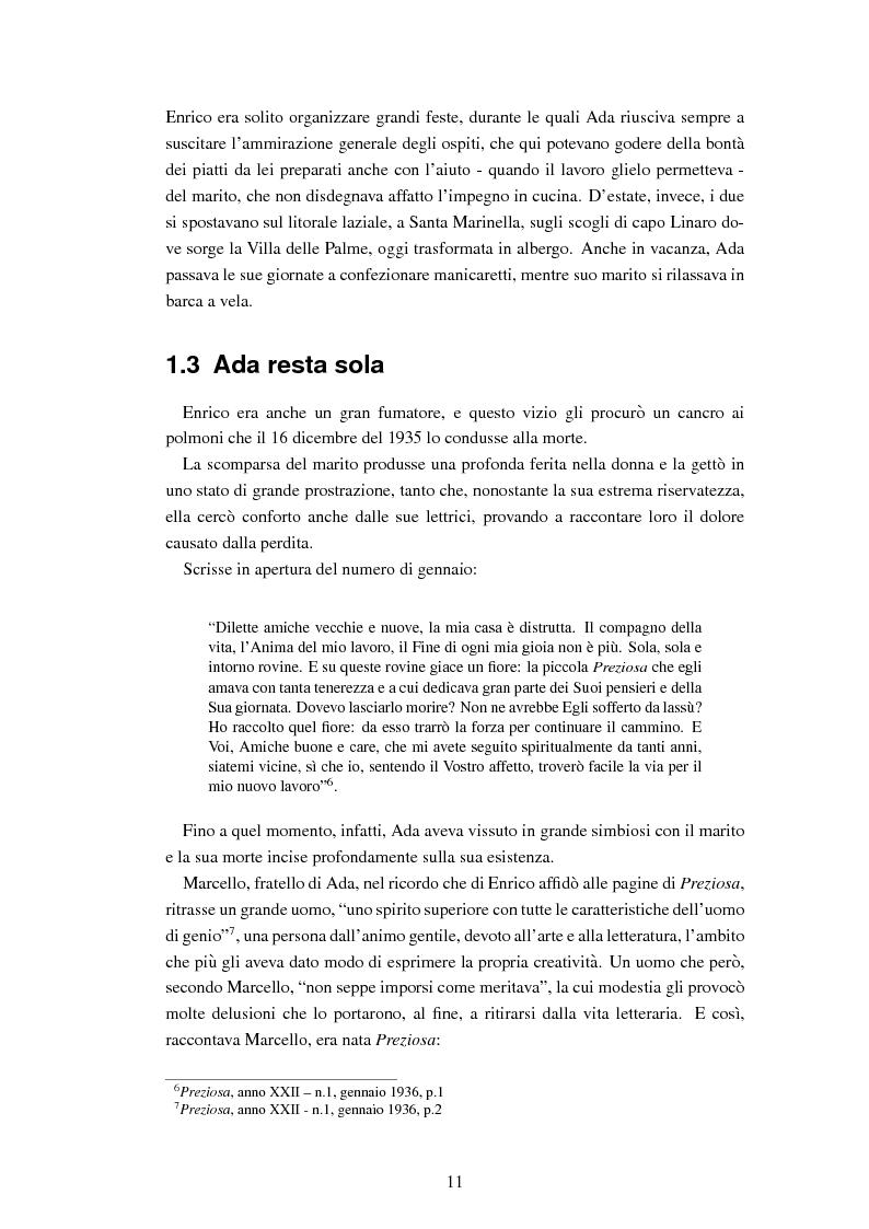Anteprima della tesi: Ada Boni e la sua rivista ''Preziosa''. Rivista di economia domestica per signore (1915-1959), Pagina 8