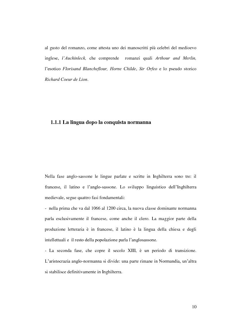 Anteprima della tesi: King Horn: alba del romanzo inglese, Pagina 10