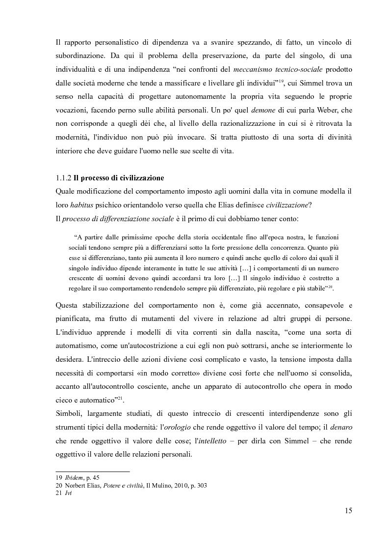 Anteprima della tesi: La sociologia processuale nello studio dei movimenti sociali contemporanei. Il caso Zeitgeist., Pagina 13