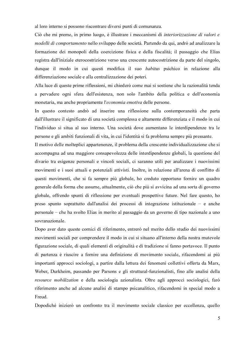 Anteprima della tesi: La sociologia processuale nello studio dei movimenti sociali contemporanei. Il caso Zeitgeist., Pagina 3