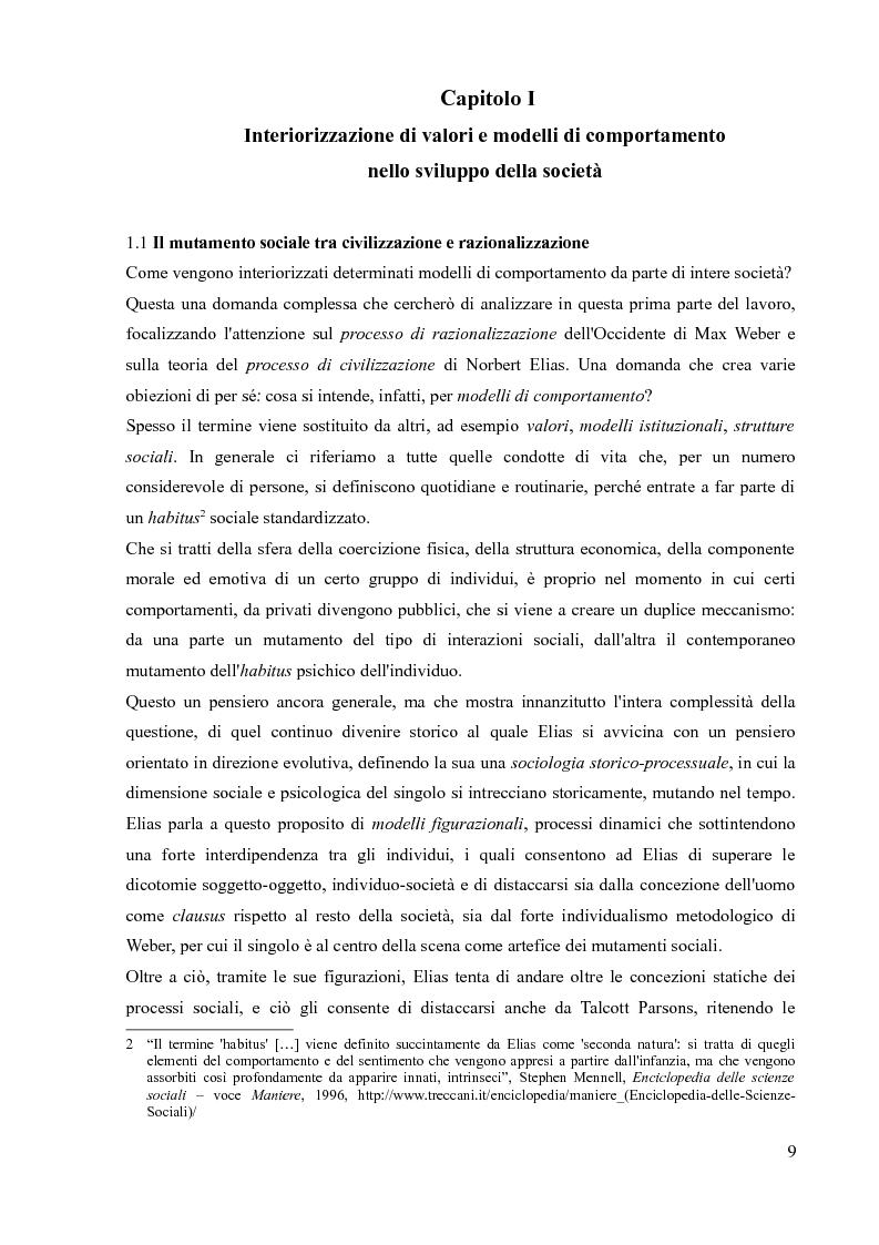 Anteprima della tesi: La sociologia processuale nello studio dei movimenti sociali contemporanei. Il caso Zeitgeist., Pagina 7