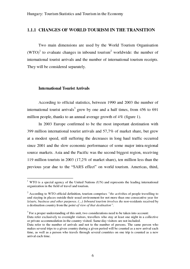 Anteprima della tesi: Hungary as a tourist product:  theoretical and promotional issues , Pagina 7