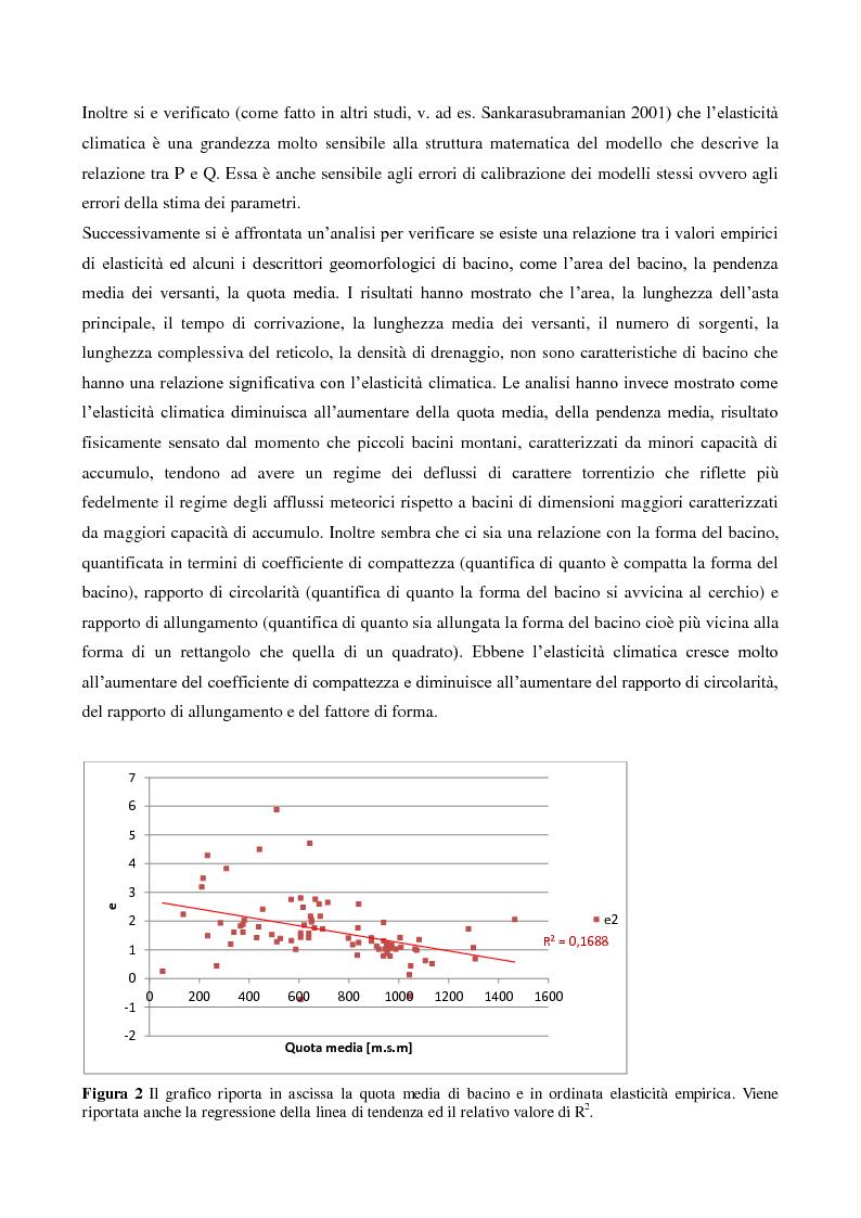 Anteprima della tesi: Analisi dell'elasticità climatica per i bacini appenninici dell'Emilia Romagna, Pagina 5