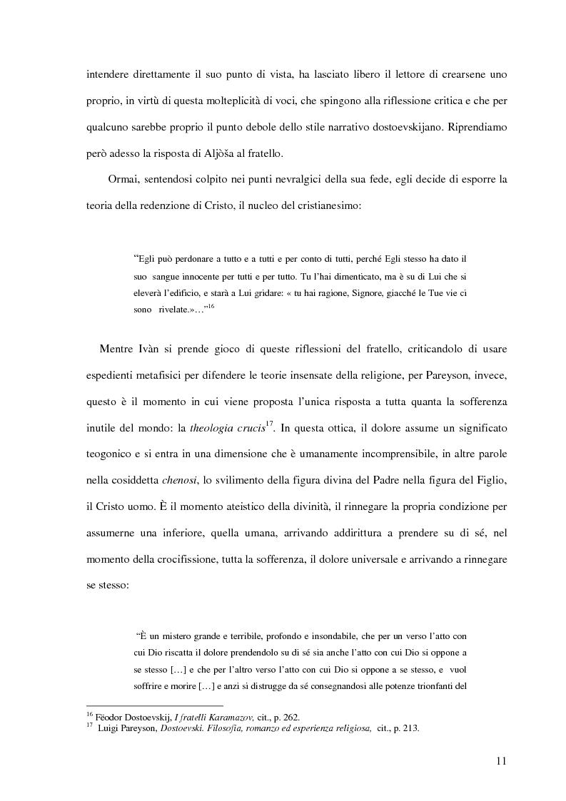 Anteprima della tesi: La Leggenda del Grande Inquisitore e la questione ontologica della libertà, Pagina 10