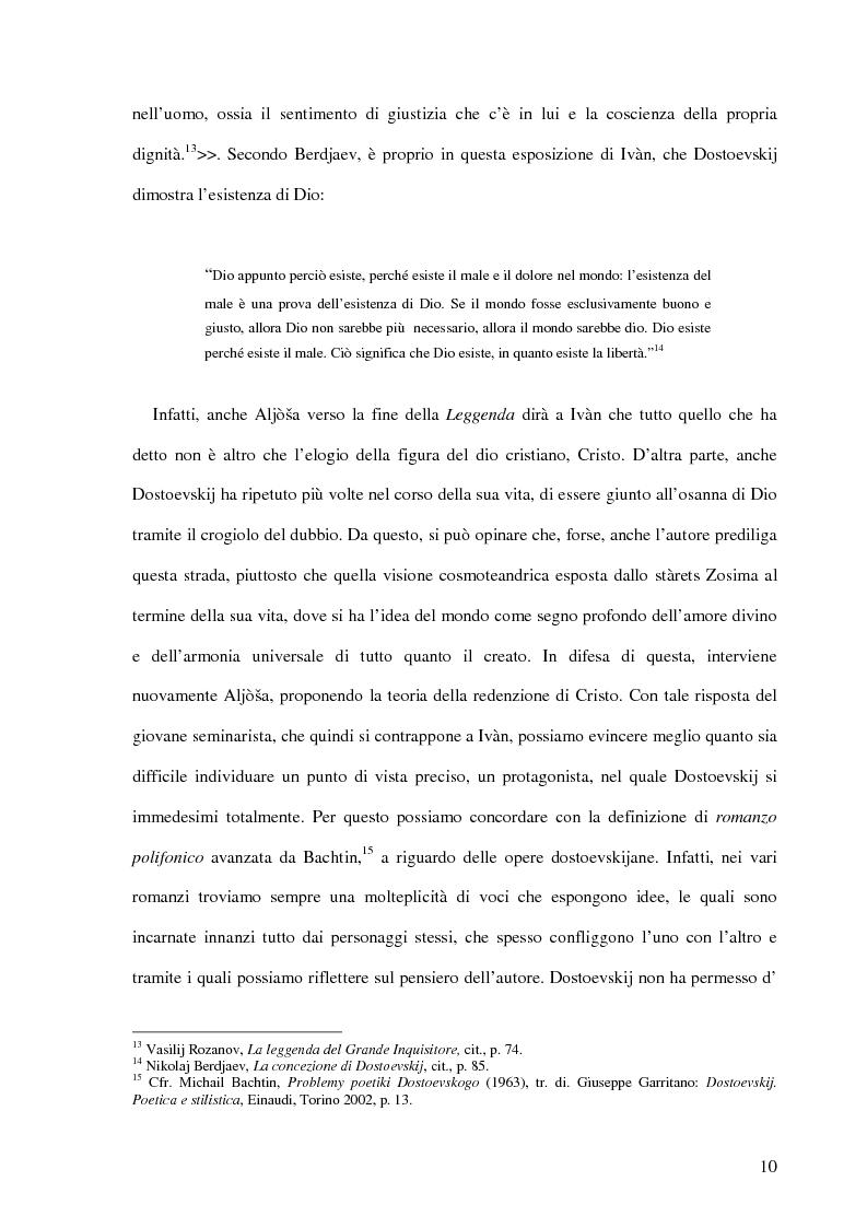Anteprima della tesi: La Leggenda del Grande Inquisitore e la questione ontologica della libertà, Pagina 9