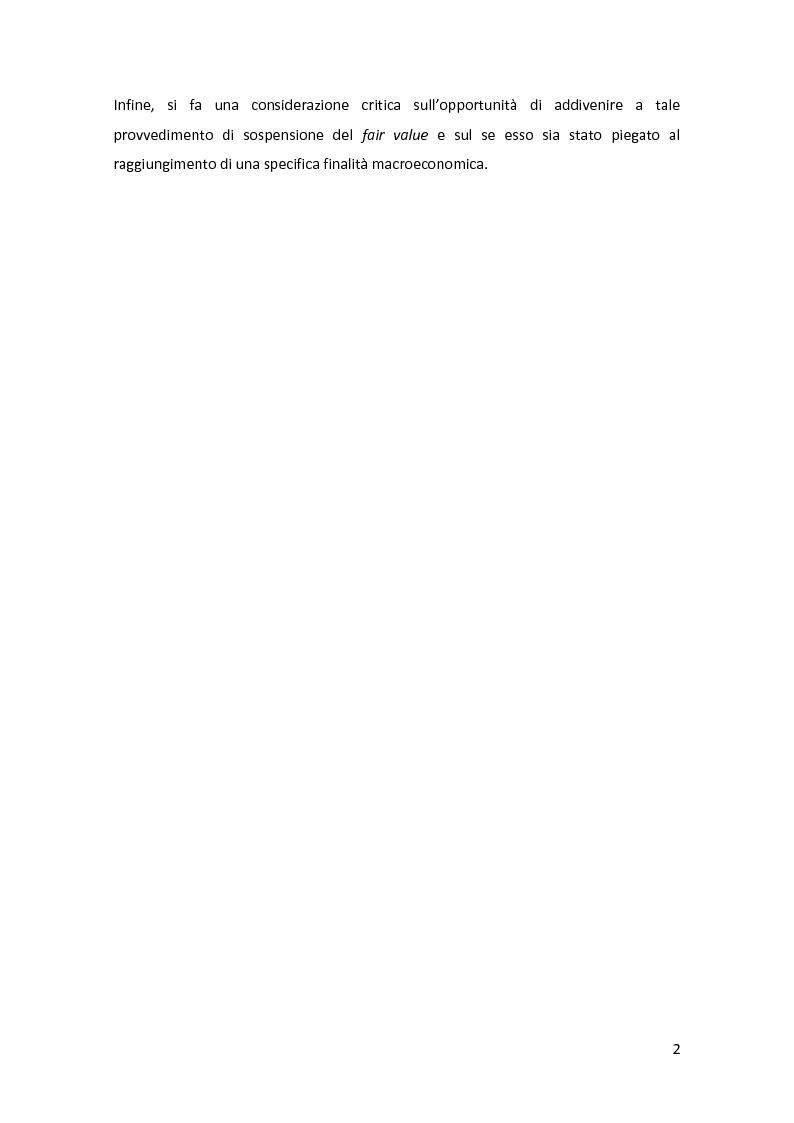 Anteprima della tesi: Gli strumenti finanziari nel bilancio bancario: principali tipologie e trattamento contabile, Pagina 3