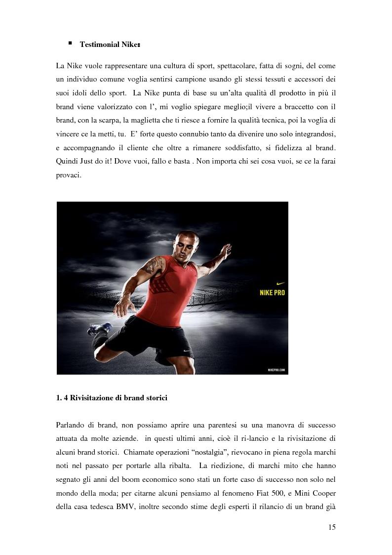 Anteprima della tesi: Vertical Branding nella moda, Pagina 11