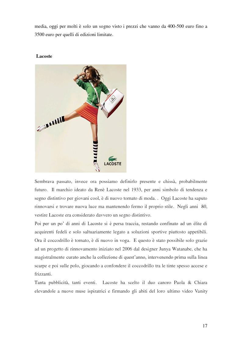 Anteprima della tesi: Vertical Branding nella moda, Pagina 13