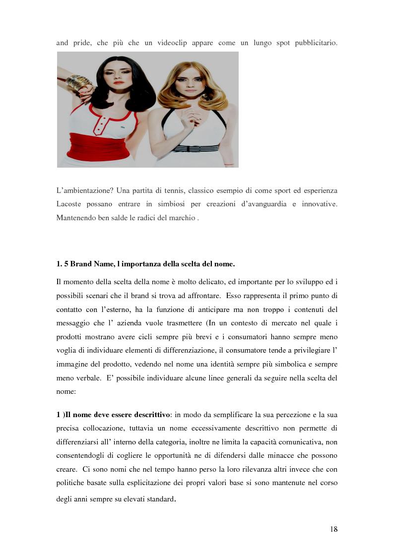 Anteprima della tesi: Vertical Branding nella moda, Pagina 14