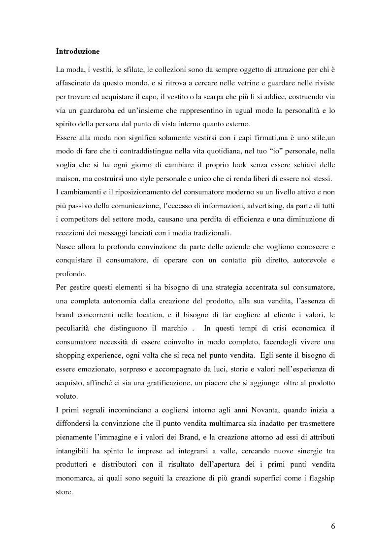 Anteprima della tesi: Vertical Branding nella moda, Pagina 2