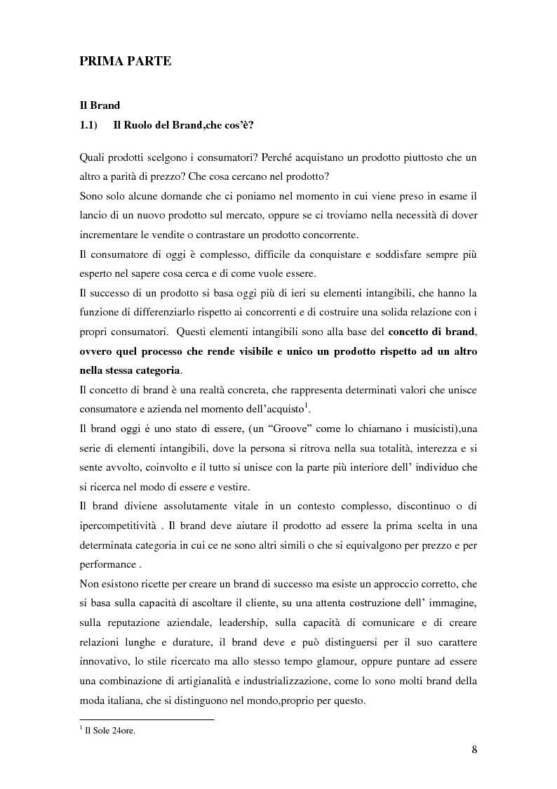 Anteprima della tesi: Vertical Branding nella moda, Pagina 4