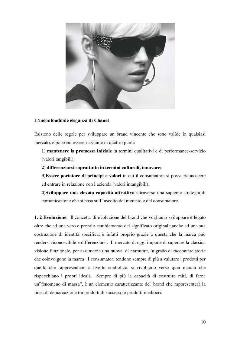 Anteprima della tesi: Vertical Branding nella moda, Pagina 6