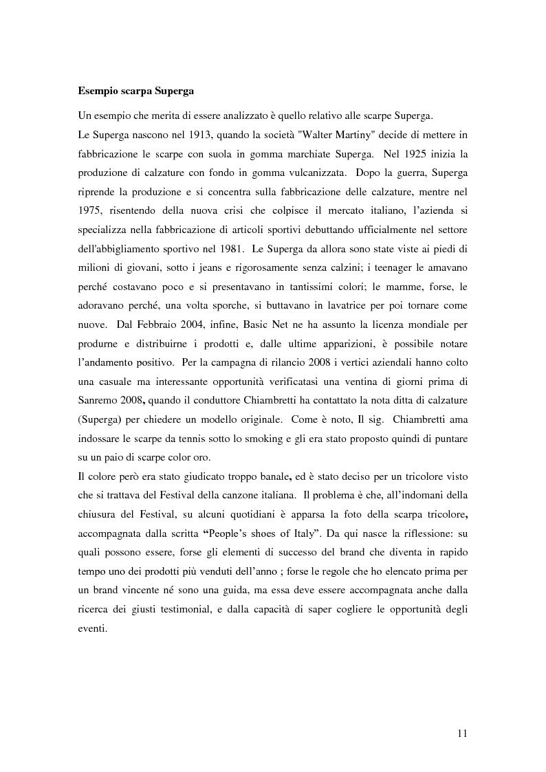 Anteprima della tesi: Vertical Branding nella moda, Pagina 7